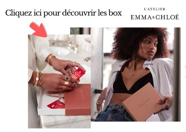 Box l'atelier emma&chloe