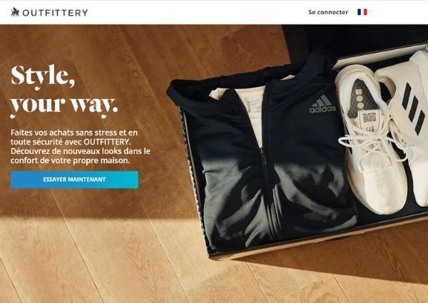 Outfittery avis sur leur site internet